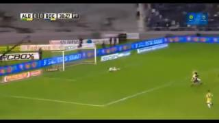 Gol de Cristian Pavon - Aldosivi 0 - 1 Boca - Futbol de Argentina 2017 - Fecha 28