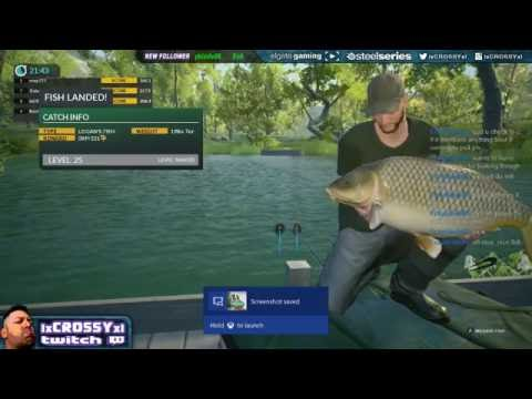 Dovetail games euro fishing boss fish logans fish xbox for Xbox one fishing games