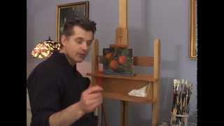 Learn to Paint Video Lessons, Tangerine Still life