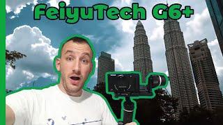 TEST FeiyuTech G6 + mon nouveau STABILISATEUR CAMERA