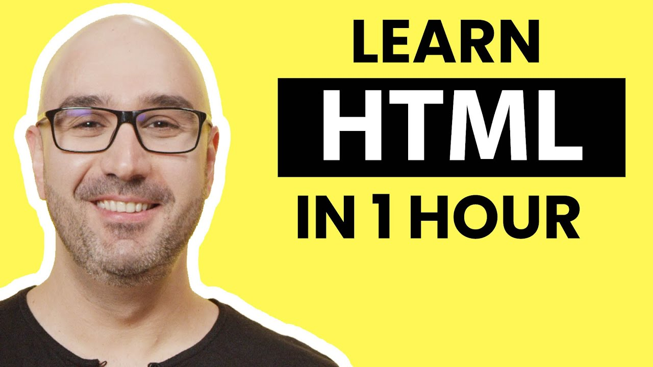 HTML Tutorial for Beginners: Learn HTML5 in 1 Hour