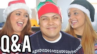 MOST HILARIOUS CHRISTMAS Q&A EVER !!!! (W/ My Sisters)