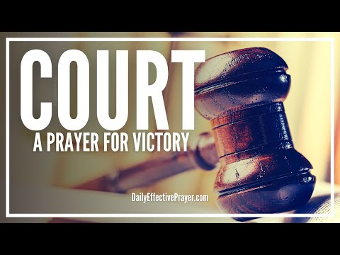 Prayer For Court Victory - Prayers To Win Court Case Mp3