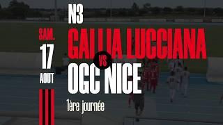 N3 : Gallia Lucciana - OGC Nice, le résumé (2-2)