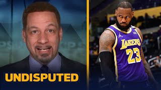 Lakers should be very concerned, LeBron's health, AD's struggles - Broussard | NBA | UNDISPUTED
