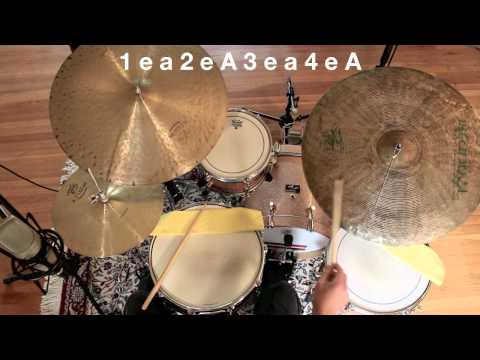 Drum Lesson - Introduction To Jazz Drumming-Part 1: The Basic Pattern