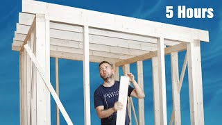 Frame a Quality Shed in 5 hours - Side Hustle Ideas