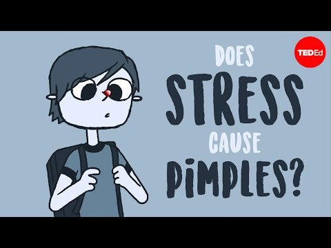 Video image: Does stress cause pimples? - Claudia Aguirre