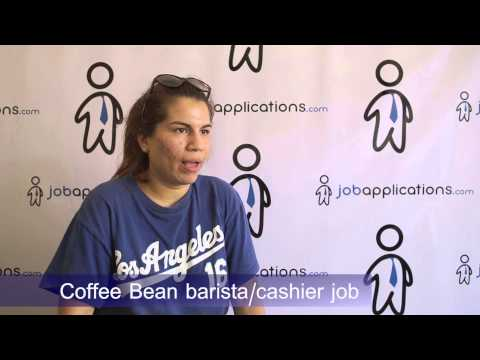 Coffee Bean Interview - Barista