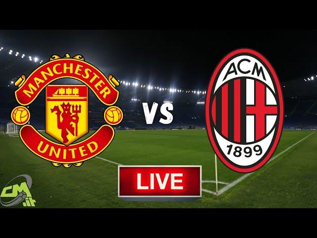 MANCHESTER UNITED-MILAN LIVE! Cronaca in DIRETTA Europa League [NO Streaming]