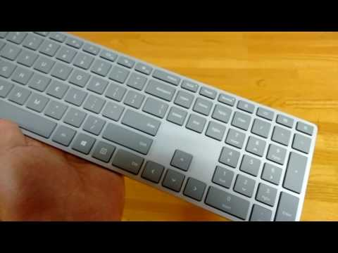 Microsoft Surface Keyboard And Mouse Blogger Review