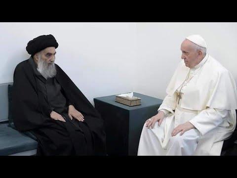 اليوم الثاني من زيارة البابا فرنسيس للعراق.. لقاء السيستاني  - نشر قبل 2 ساعة