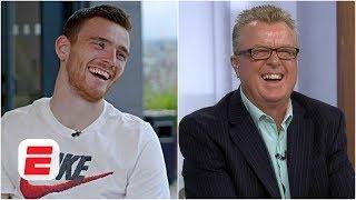 Andrew Robertson pranks Liverpool legend Steve Nicol | Premier League