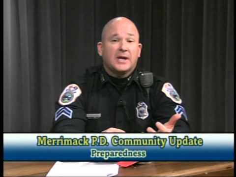 Merrimack Police Department Community Update: Winter Weather Issues (2014)