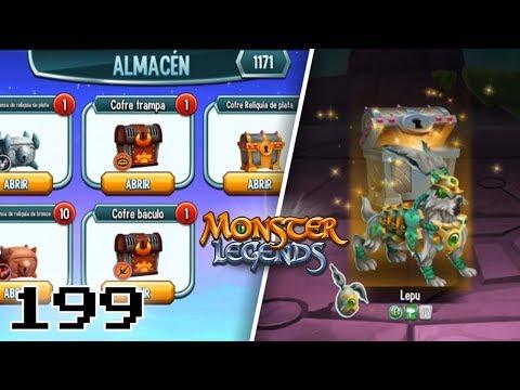 ABRIENDO COFRES DE RELIQUIA!!😱 - Monster Legends #199