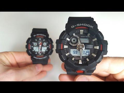 Преемственность поколений. Casio G - Shock GA-700-1A