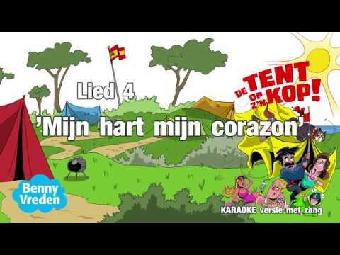 Lied 4 (karaoke met zang) Mijn hart mijn corazon - van musical De tent op z'n kop!