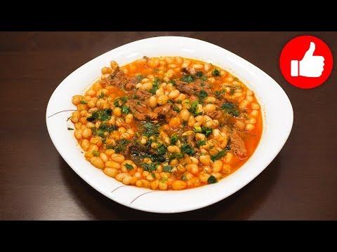 Как приготовить фасоль с мясом в томатном соусе в мультиварке