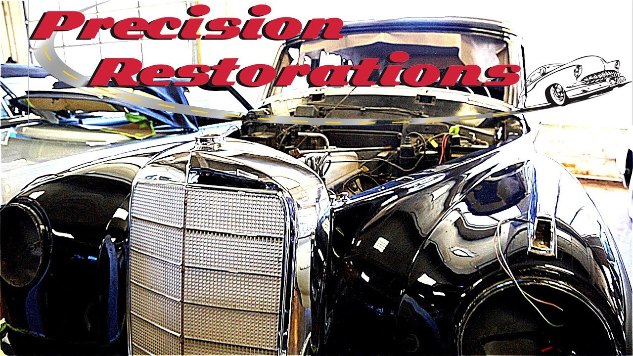 Precision Restorations - Vintage and Classic Car Restorers - YouTube