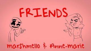 Marshmello & Anne-Marie - FRIENDS  * FRIENDZONE ANTHEM*
