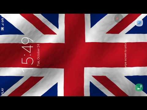 wallpaper animasi bendera inggris 3d