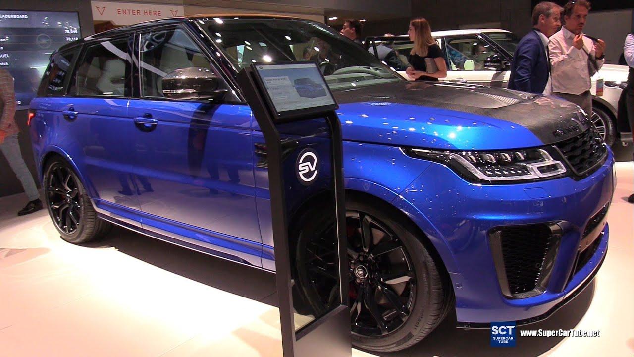 Range Rover Sport phiên bản SVR