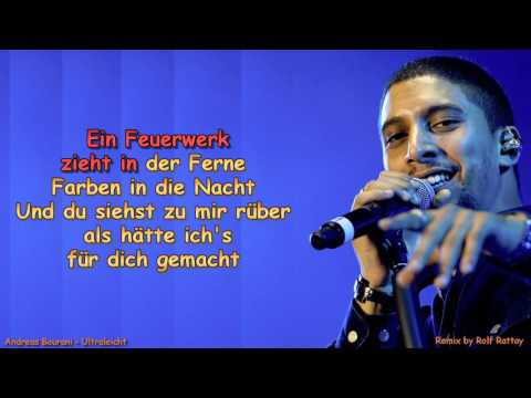 Andreas Bourani   Ultraleicht Instrumental with Lyrics Remix by Rolf Rattay