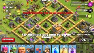 Clash Of Clans Push To Crystal Ep 1:FARMING?!