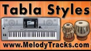 Tabla Styles YAMAHA Keyboards Latest Songs Set 1- indian Kit