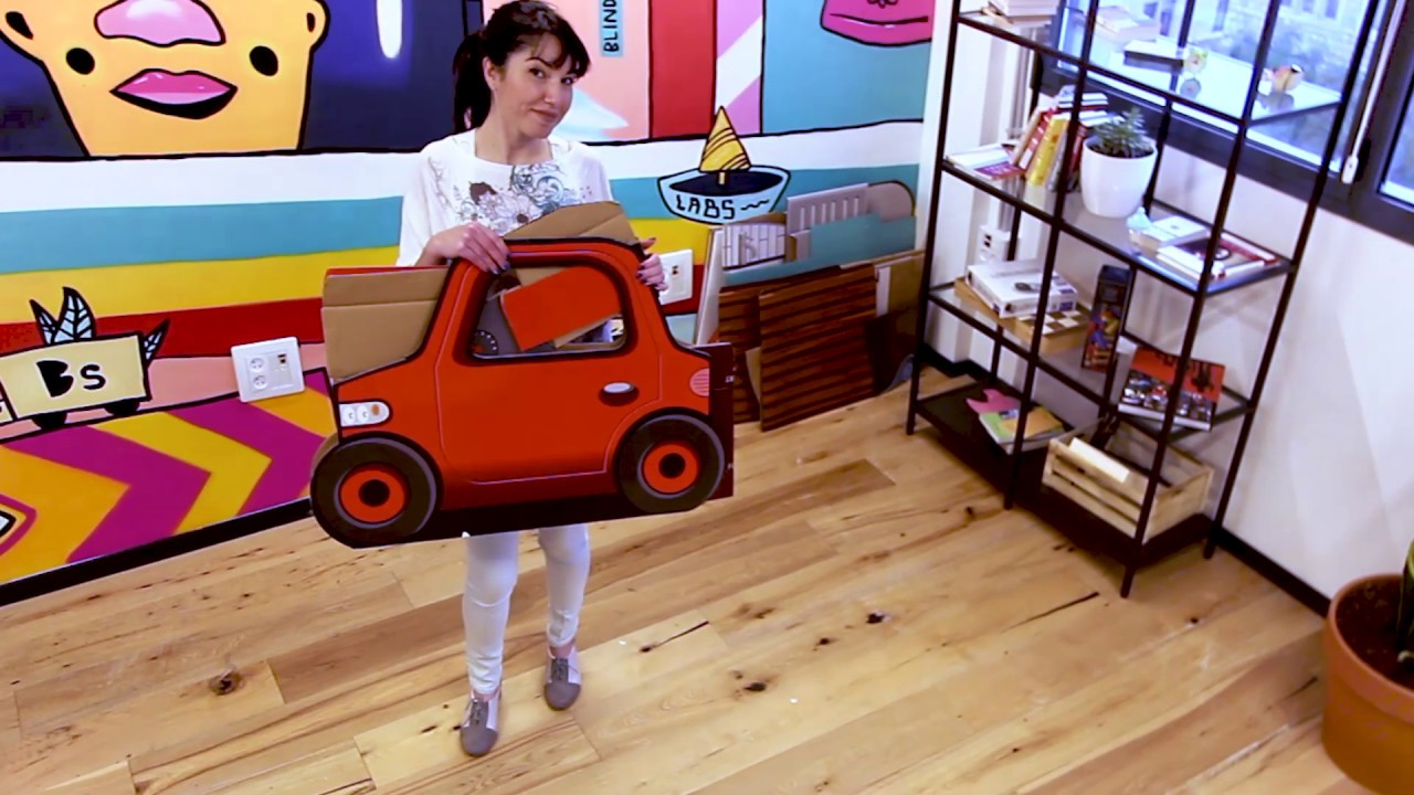 How To PopUp and UnPop - POPIN™ 'First Steps' Car