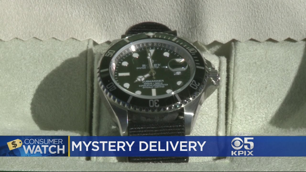 Mystery Rolex Tied To An eBay Scam Artist