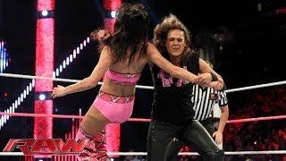 Brie bella vs. tamina snuka: raw, oct. 14, 2013