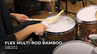 MEINL Stick & Brush Flex Multi-Rod Bamboo SB202