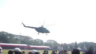 helicopter parasailing hut 58 pangdam ix udayana