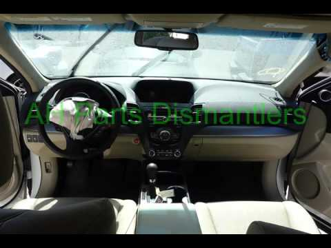 Acura RDX Parts Car Parting Out Fix Your Car OEM - Acura rdx parts