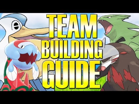 How To Team Build Competitive Teams - Pokemon Sword And Shield