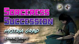 Sorceress Succession: Hystria Grind 15min Test | Black Desert Online [BDO]