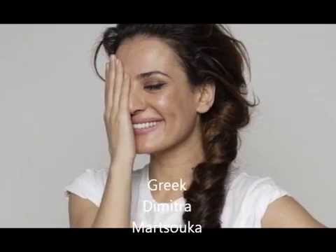 BEAUTIFUL GREEK & HALF GREEK WOMEN..!!!