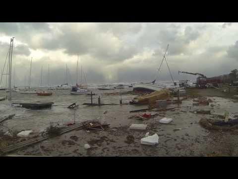 Gilleleje Havn efter Bodil