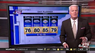 WATCH: Meteorologist Mike Osterhage gives his early weather forecast