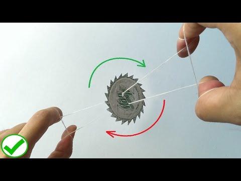 THREAD operated sharp Circular saw - DIY tutorial