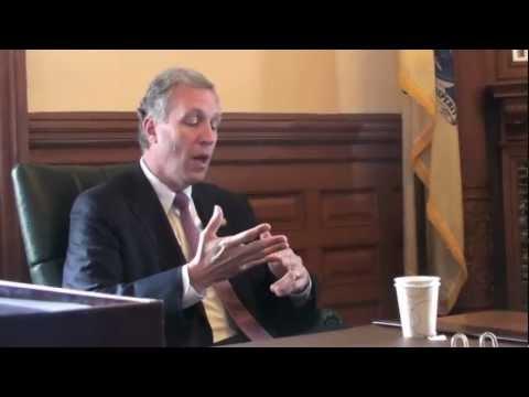 Assemblymen John Wisniewski and Joe Cryan Speak With Public Employees