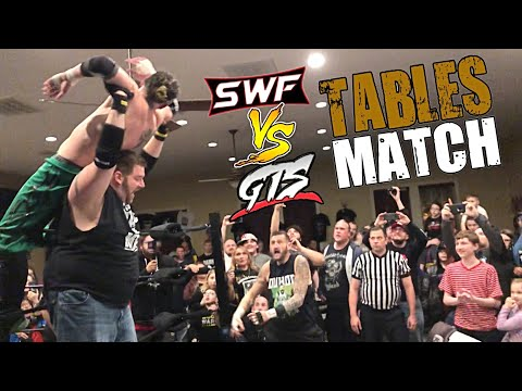 Table Match Brought Crowd To Their Feet! - Incredible SWF vs GTS Live Event 2/23/19