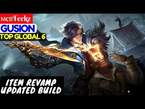 Item Revamp Updated Build [Top Global 6 Gusion]   мcвFeekz Gusion  Gameplay Mobile Legends
