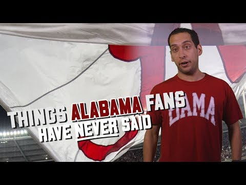 SEC Shorts - Things Alabama fans have never said