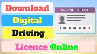 Download Online Digital Driving Licence - 2018 By  technical naresh