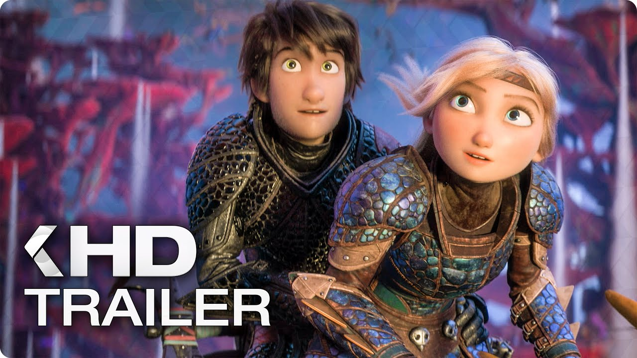 HOW TO TRAIN YOUR DRAGON 3 - Finding The Hidden World TV Spot & Trailer (2019)