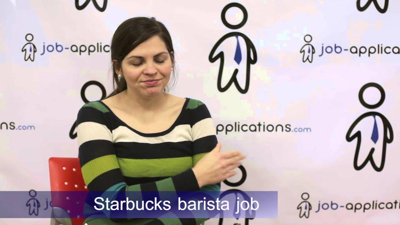 Starbucks Interview   Barista 4   YouTube