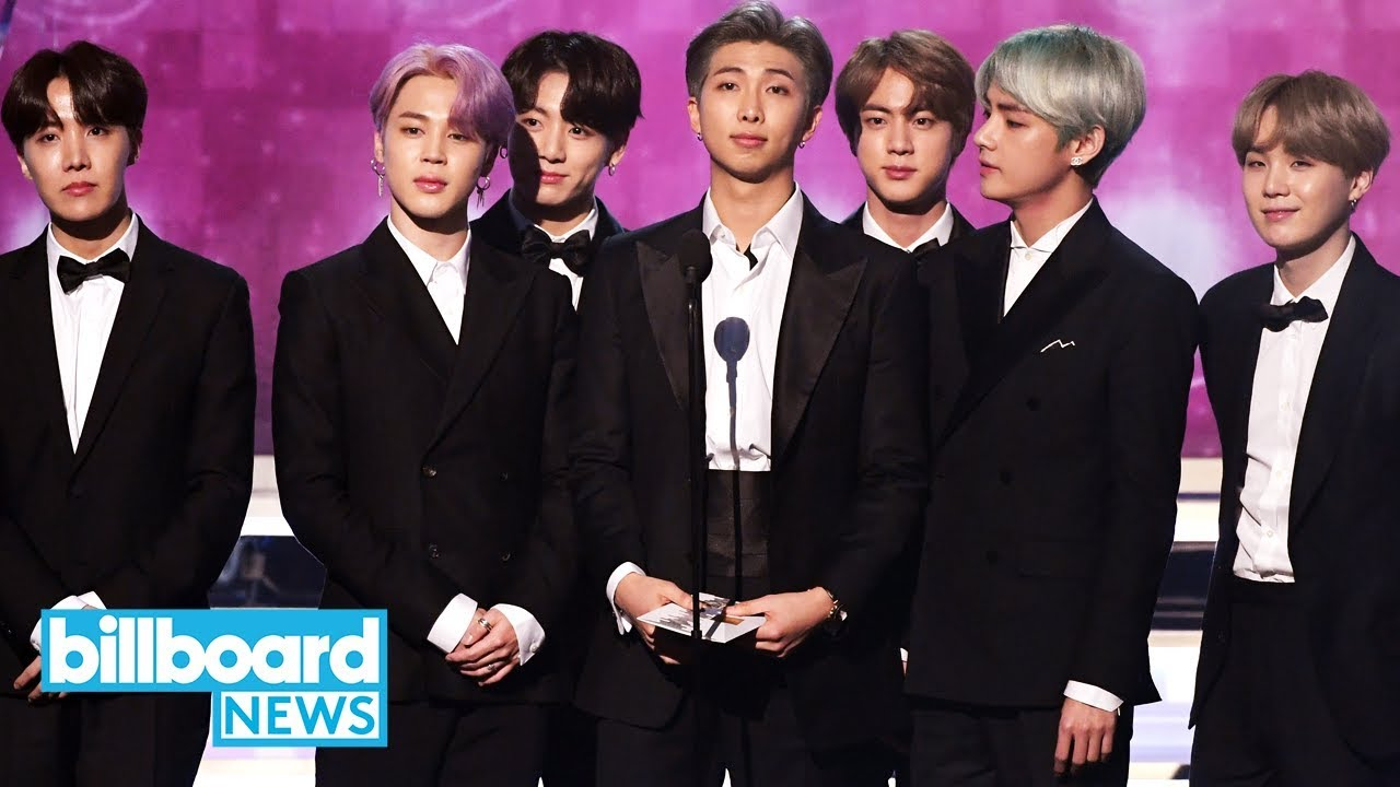 bts present best r b album at 2019 grammy awards billboard news youtube bts present best r b album at 2019 grammy awards billboard news