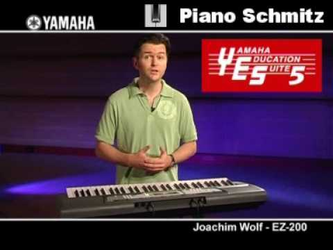 Yamaha EZ-200 Demo - Piano Schmitz Essen